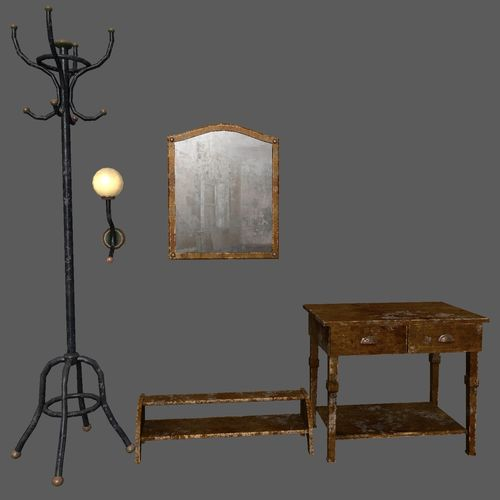 Hallway old furniture pack