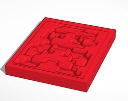 Nintendos 8-bit Mario 3D print model