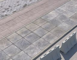 3D model pavement