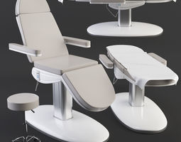 Treatment care table 3D