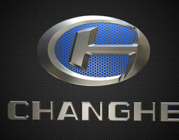 3D model changhe logo