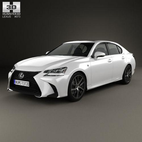 Lexus Sport: 3D F Lexus GS F Sport 2015