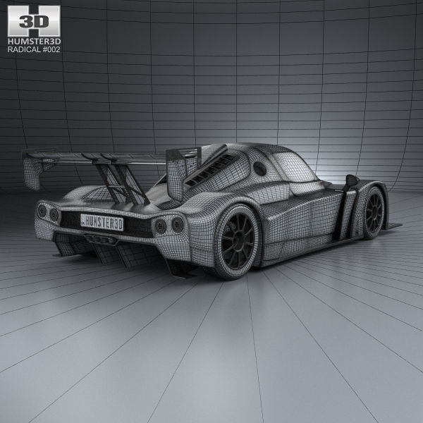 Radical RXC 2013 3D model | CGTrader