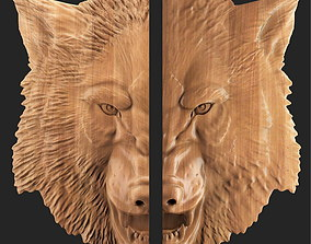 3D printable model Wolf animal