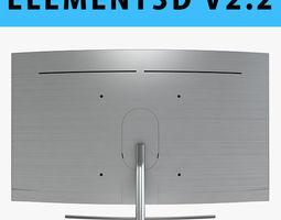 E3D - Samsung Q8C 75 Inch Remote QLED 4K TV 3D