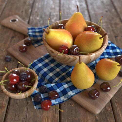 Fruit decor for kitchen