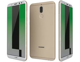 3D model Huawei Mate 10 Lite Prestige Gold