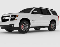 2018 Chevrolet Tahoe RST Vray 3D model