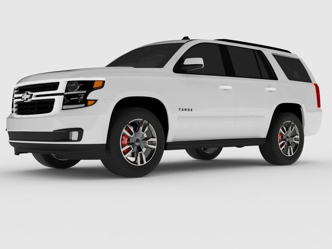 2018 Chevrolet Tahoe Rst Vray 3d Model Cgtrader