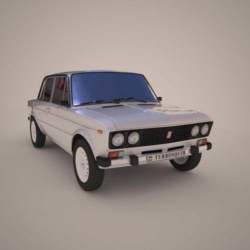 vaz 2106 russian car  3d model max obj mtl fbx tga 1