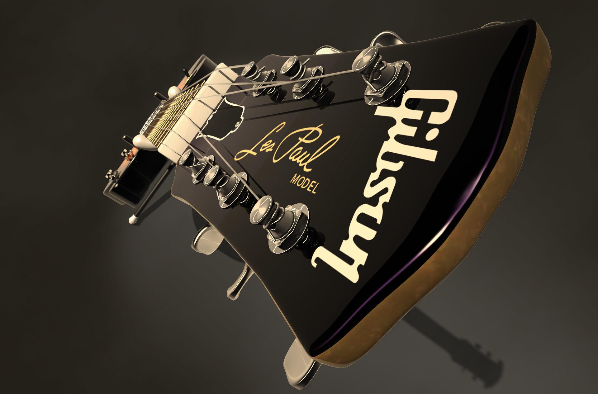 Electric guitar Gibson Les paul