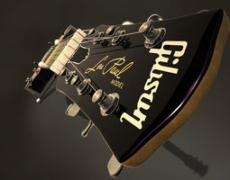 Electric guitar Gibson Les paul 3D