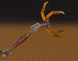 3D model Claw Scifi Robot