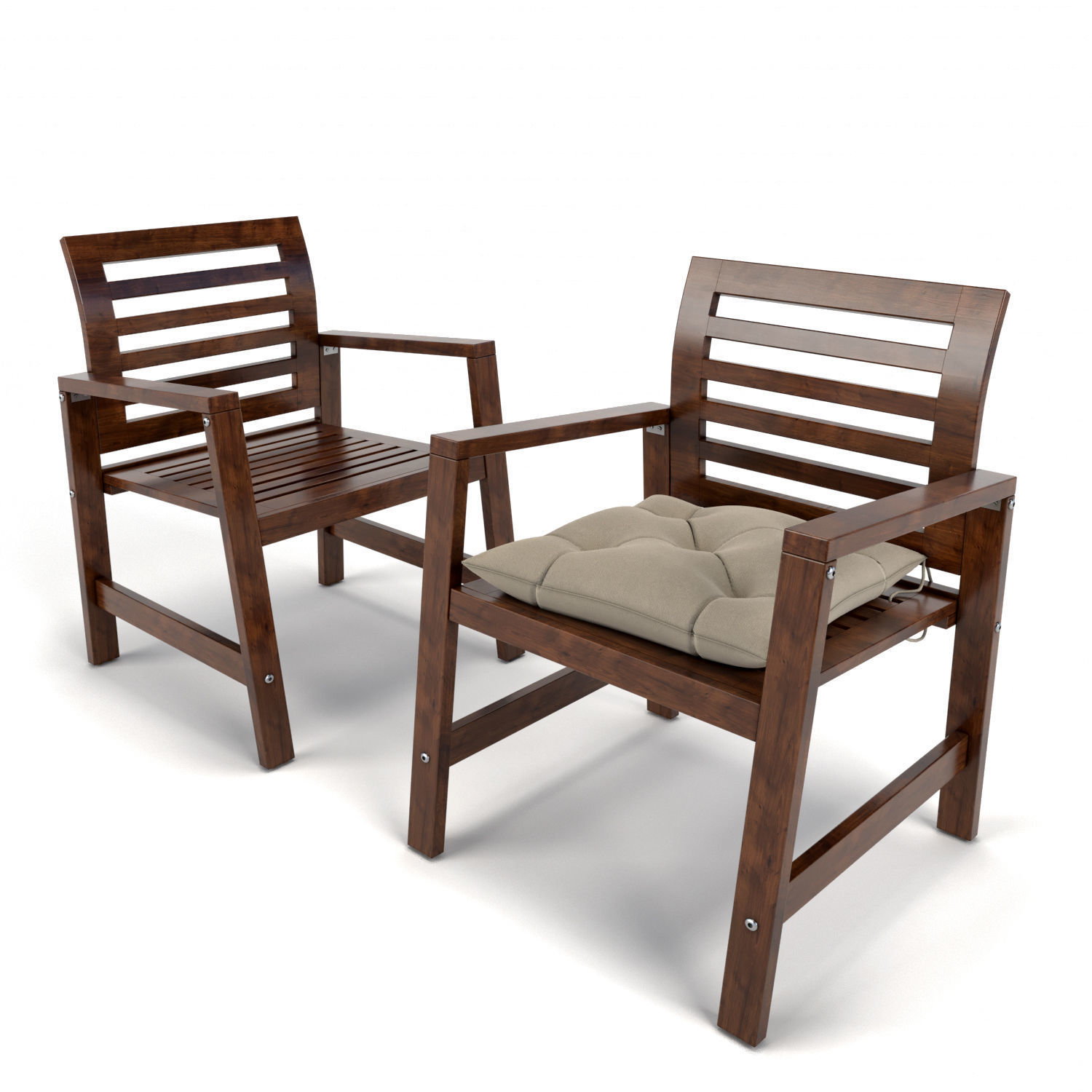 garden furniture applaro ikea 3d model max fbx 2 - Garden Furniture 3d Model