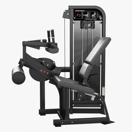 hammer strength select se full seated leg curl 3d model max obj mtl fbx stl 1