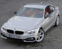 bmw 4 series coupe sport line 2014 animated 3d