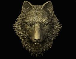 3D print model Wolf Pendant