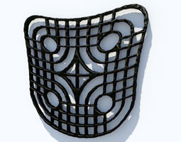 Twisted Pattern 3D printable model