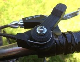 3d print model bike shifter friction
