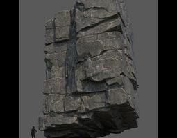 3D model Modular cliff
