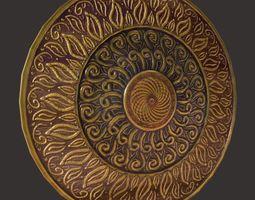 3D asset Roman Shield