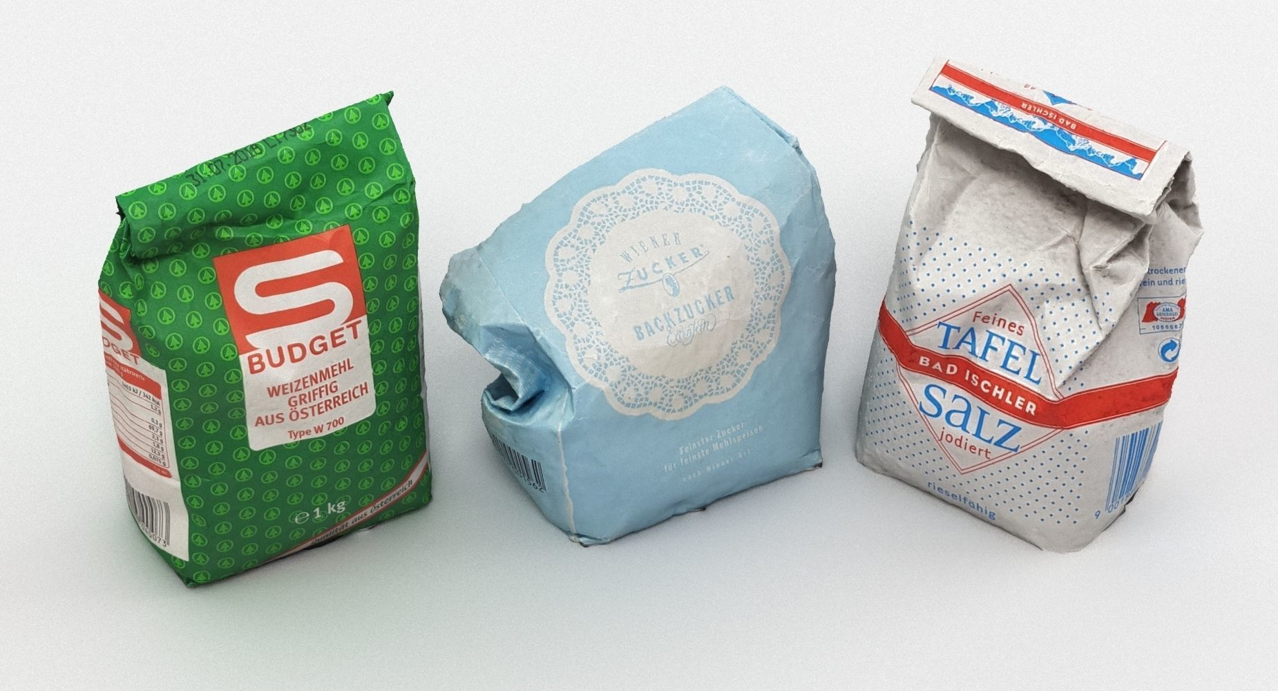 Bags of Cooking Supply