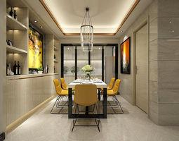 3D Family - kitchen - restaurant 445