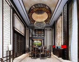 Family - kitchen - restaurant 475 3D model