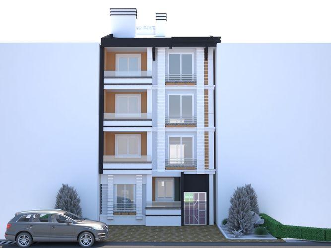 3d modeling apartment 3d model max obj mtl fbx 1
