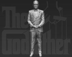 Marlon Brando Vito Corleone Godfather 3D printing ready 2