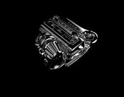 engine ring 3D print model