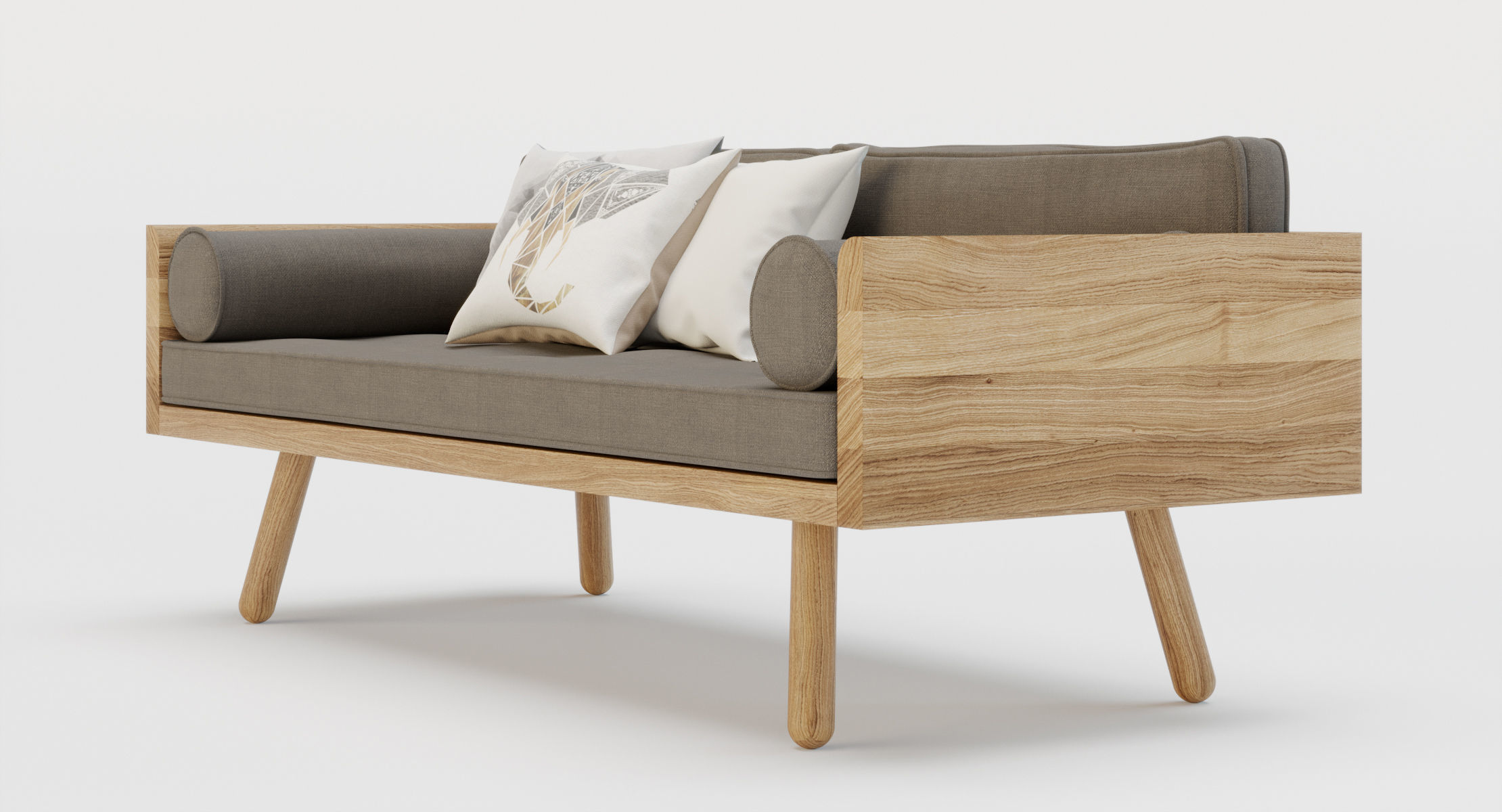 ... Furniture   Another Country Modern Sofa   C4d Native   Corona 3d Model  C4d ...