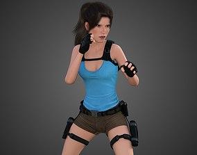 3D asset Lara Croft -Tomb Raider-