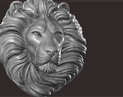 3D printable model Lion bas relief
