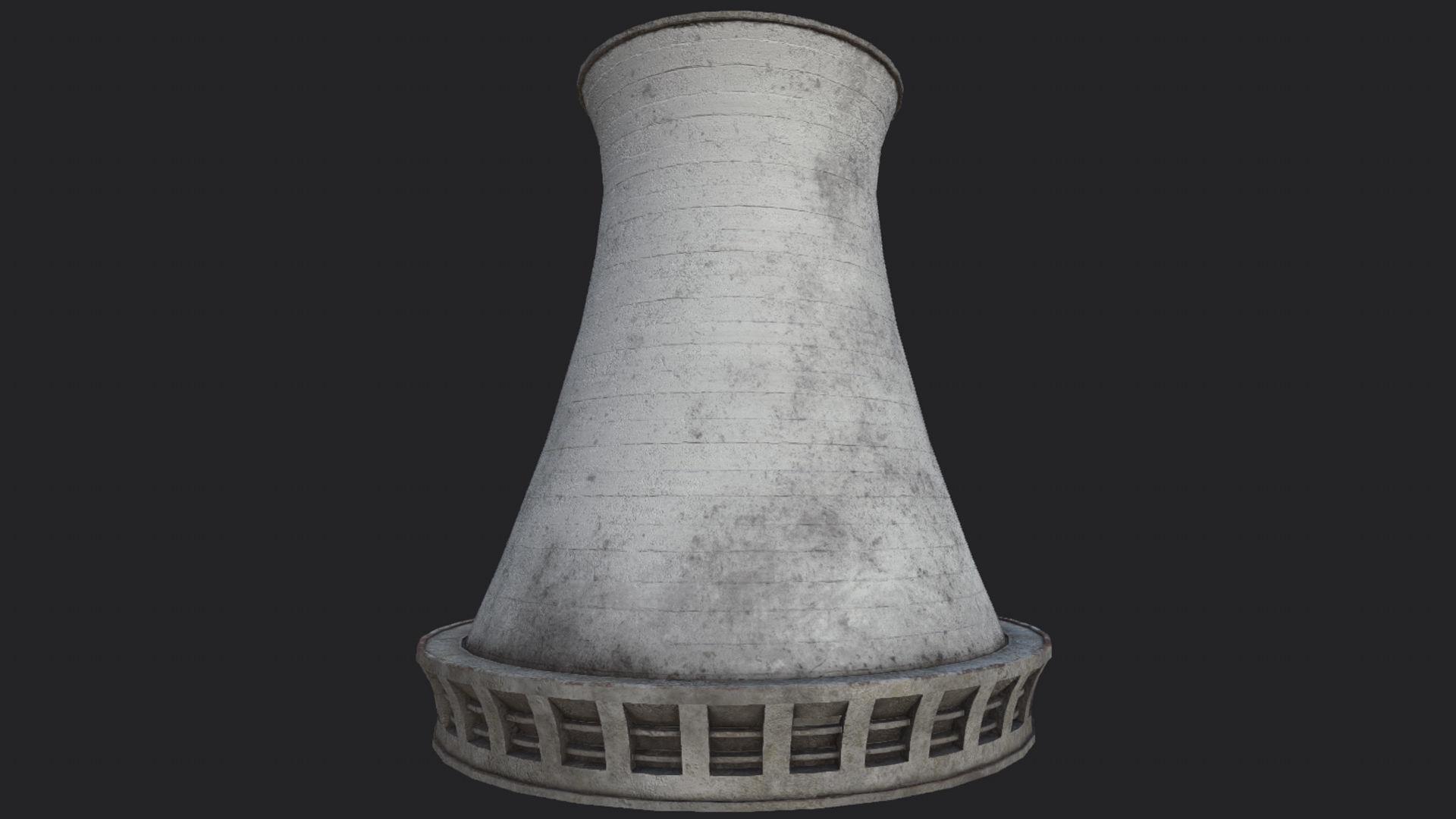 Nuclear Power Plant Chimney PBR