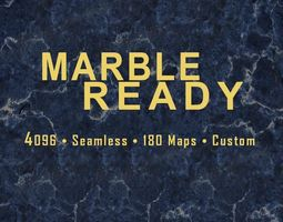 4K Marble Ready 3D model