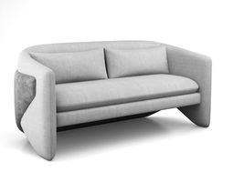 3D Thea Settee by West Elm