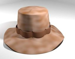 3D model Hat - Boonie