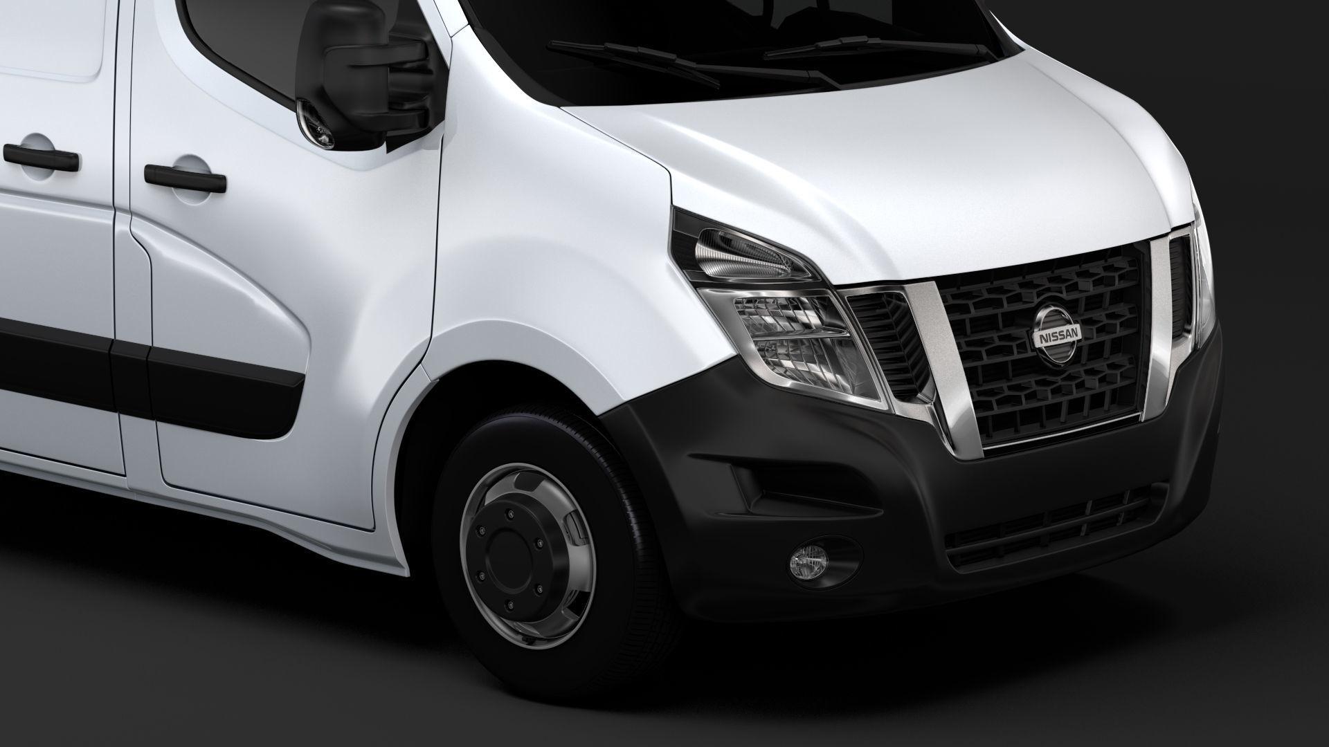 Nissan Nv 400 L1h1 Van 2017 3d Model Cgtrader
