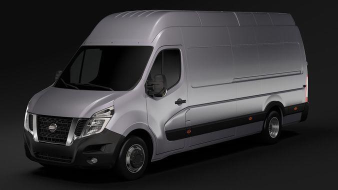 Nissan Nv 400 L4h3 Van 2017 3d Model Cgtrader