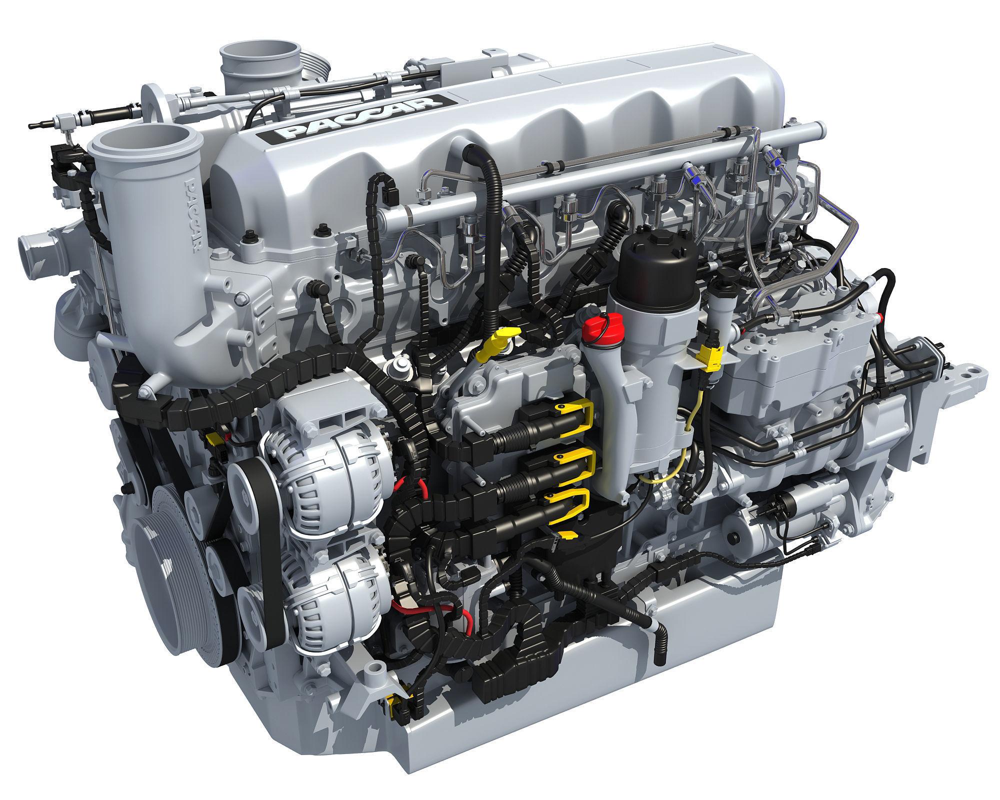 Powertrain Truck Diesel Engine