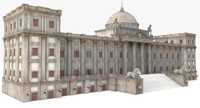 European Renaissance palace