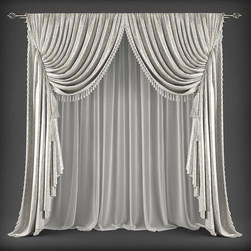 Curtain 3D model 336
