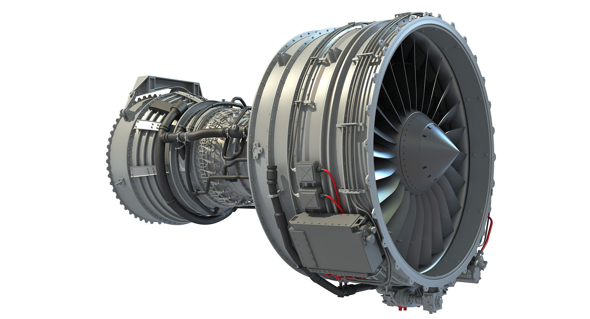 CFM56 Turbofan Aircraft Engine