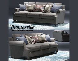 3D Thomasville Ancil sofa