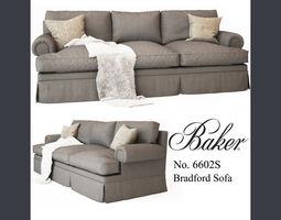 3D model Baker Bradford Sofa