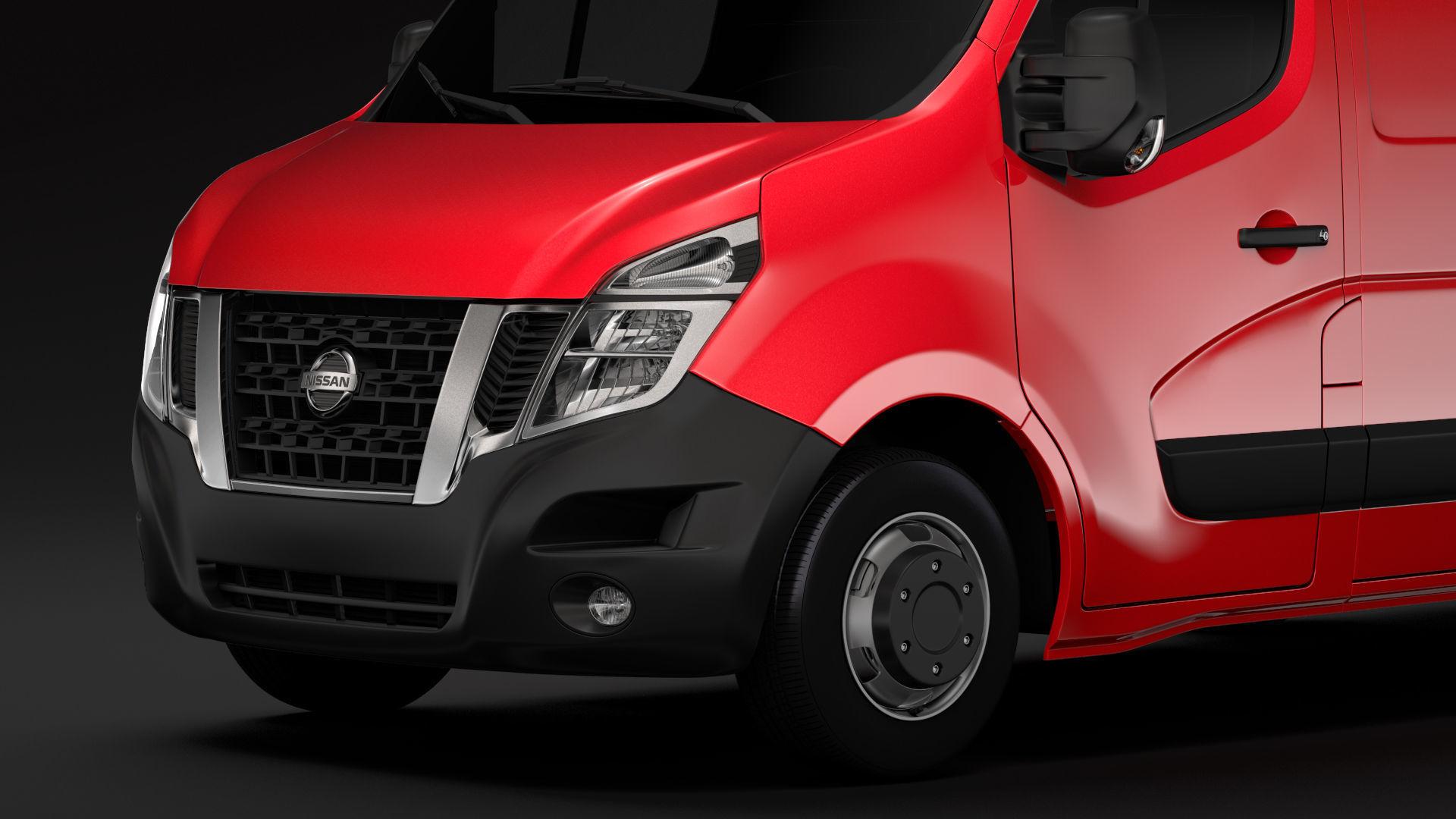 Nissan Nv 400 L1h2 Van 2017 3d Model Cgtrader