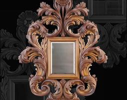 Jumbo Collection Mirror decoration 3D model