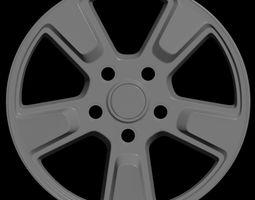Car rim 7 3D asset