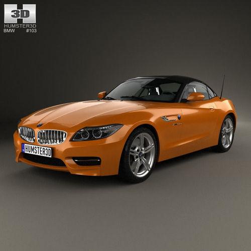 Bmw Z4 M Coupe Interior: BMW Z4 E89 Roadster 2013 3D Model MAX OBJ 3DS FBX C4D LWO